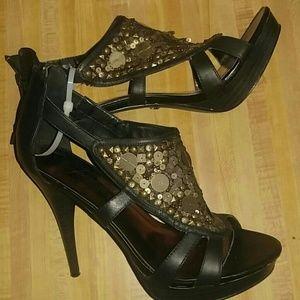 Fergie Bronze Stilettos